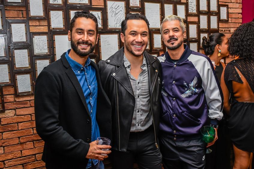 Andre de Mello, Vinicius Belo e Gilson M