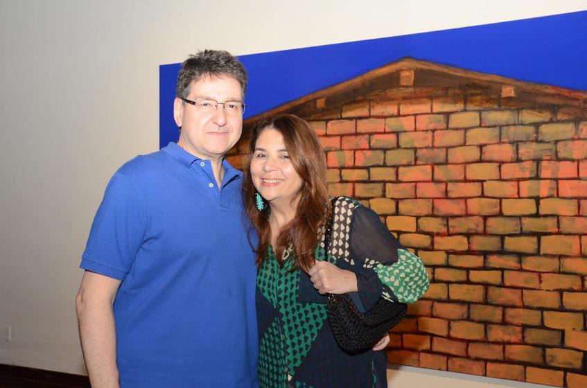 Olmar Battaglia e Ana Claudia Vaz