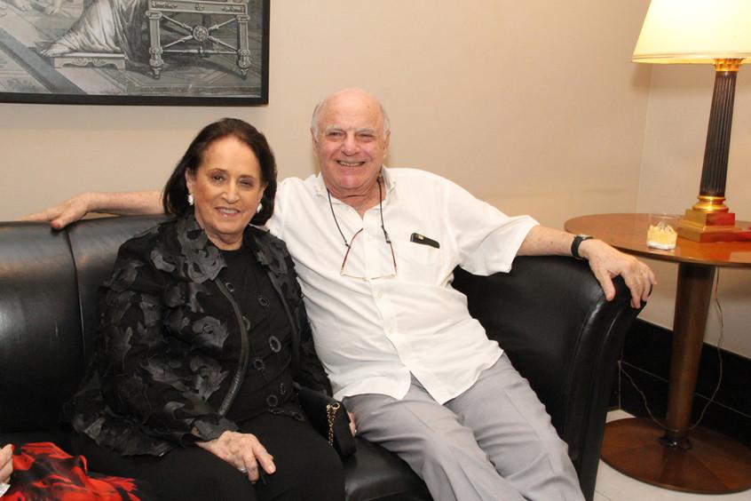 Belita e Francis Bogossian