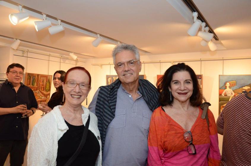 Regina Miranda, Lauro Cavalcanti e Vivia