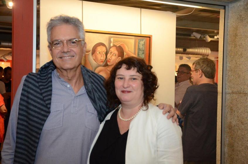 Lauro Cavalcanti e Luiza Marcier
