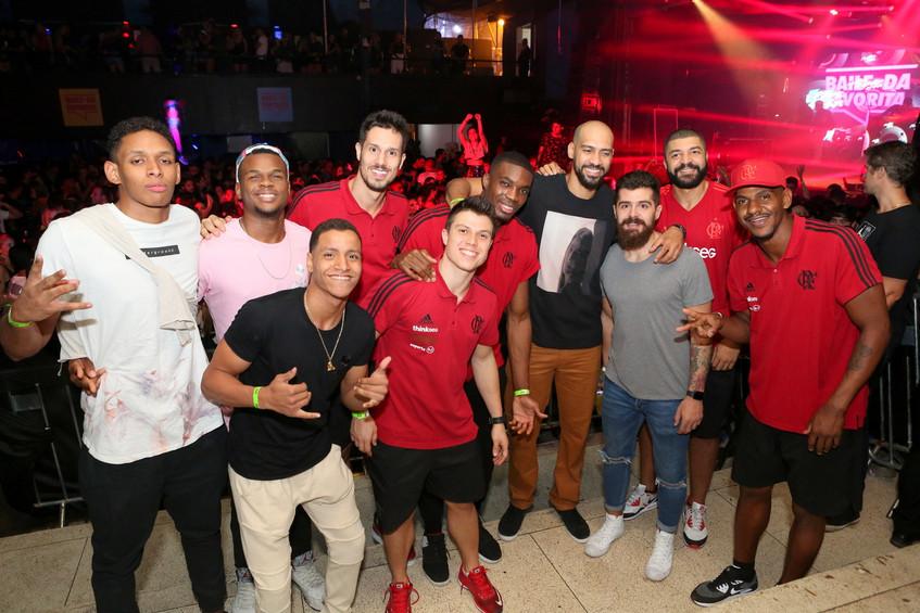 Olivinha e equipe do Flamengo 0589