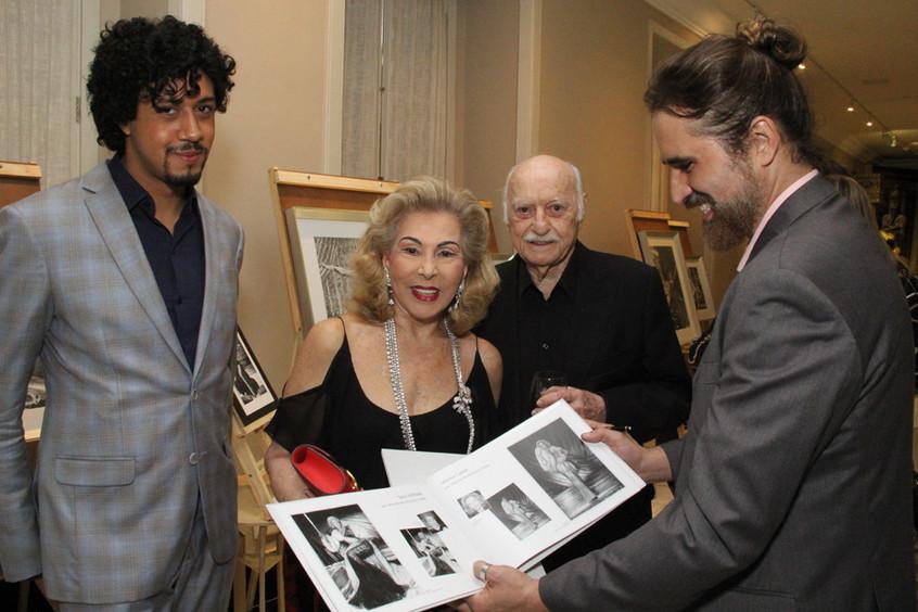 Abyner Gomez, Marisa e Jair Coser e Chri