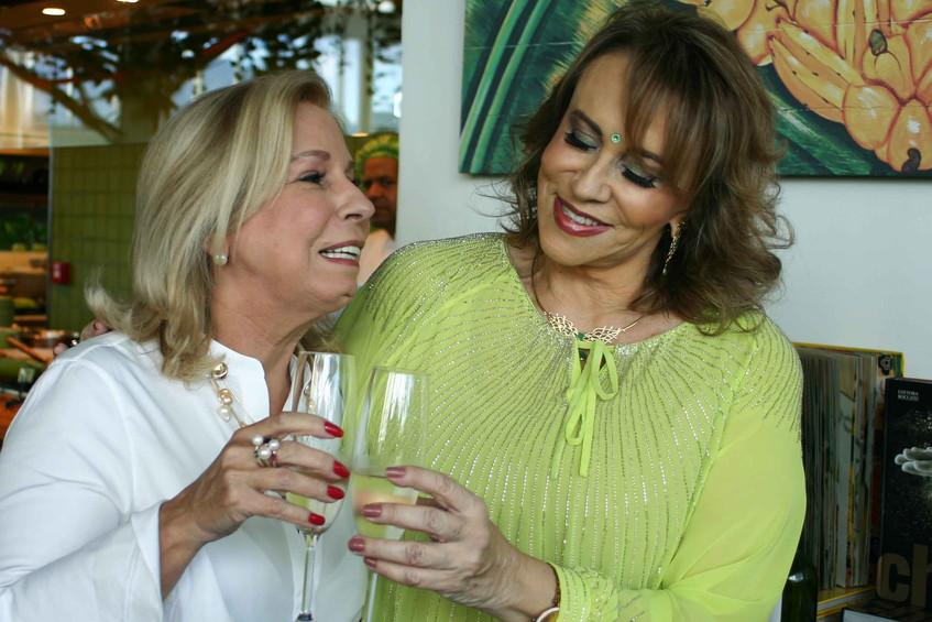 Viviane Cohen e Regina Portugal