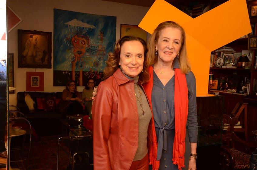 Nora Esteves e Beth Crisostomo