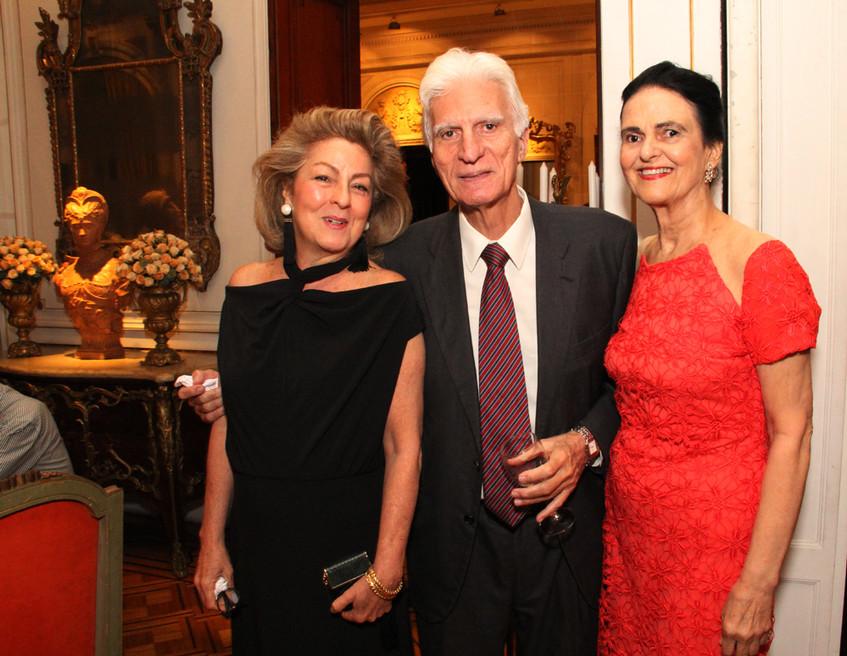 Margaret Padilha , Roberto Lins e Maria