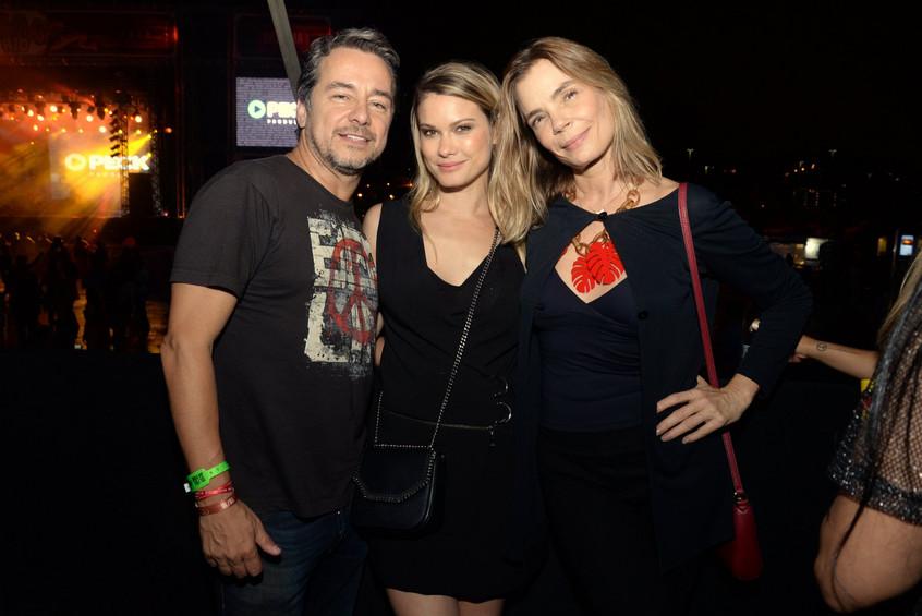 Carlos Vieira, Karen Junqueira e Alexia