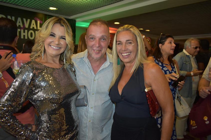 Viviane Fernandes, Bayard Boiteux e Suza