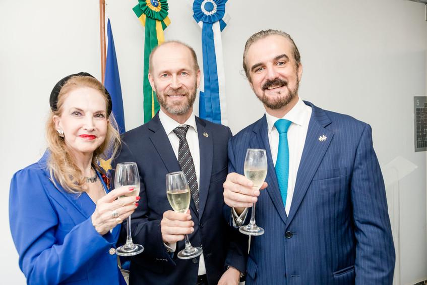 Diana Macedo Soares e Jouko Leinonen e S