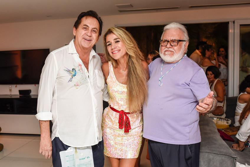 Ricardo Rique, Fernanda Capobianco e Ric