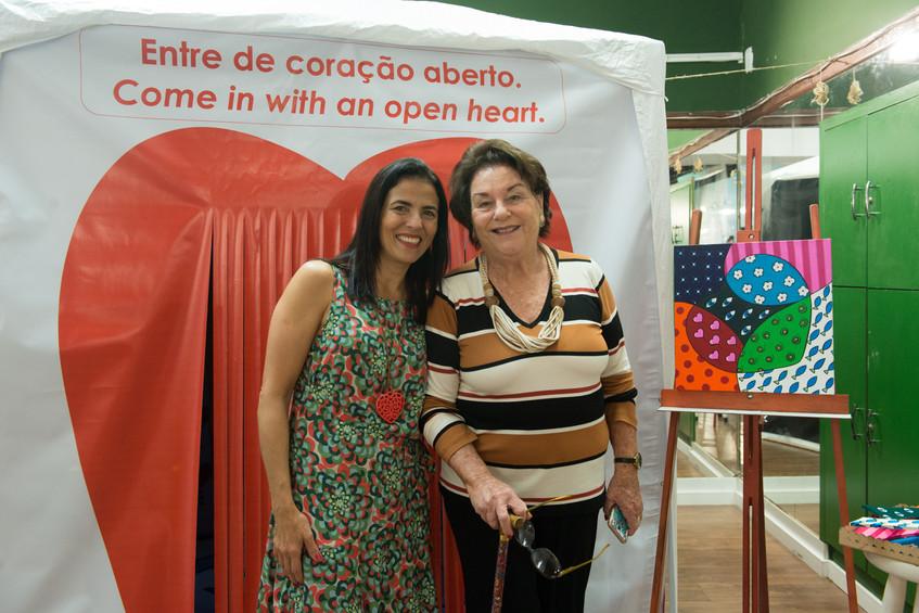 Claudia Fulchignoni e Ana Luiza Trancoso