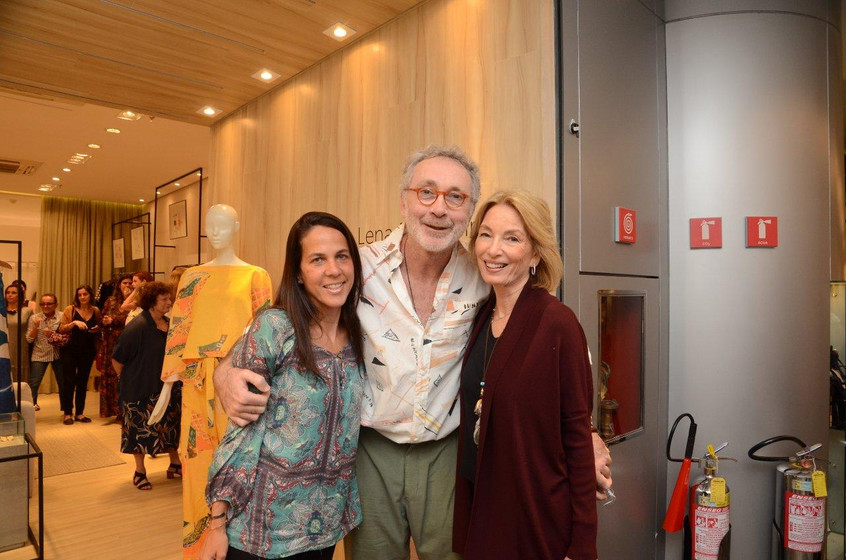 Martha Fadel, Antonio Negreiros e Sandra