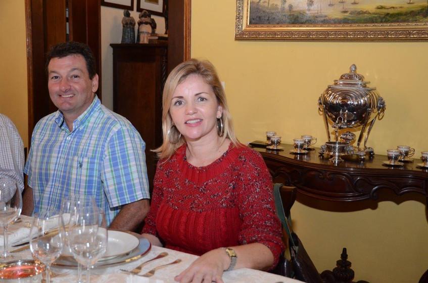 Marcelo Tesseroli e Sabina Lux