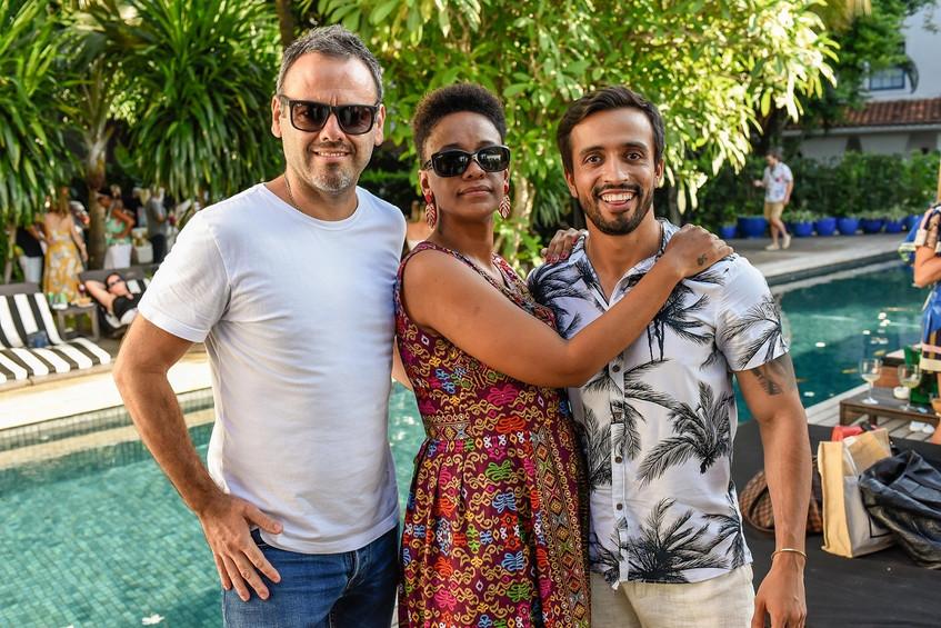Esteban Mateu, Danni Camilo e Jean Pierr