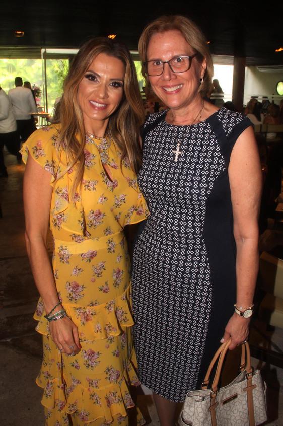 Adriana Alves e Primeira-dama da Prefeit