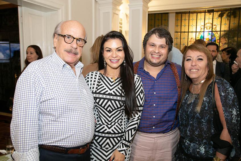 Claudio aboim, Bruna e Claudio Castro, A