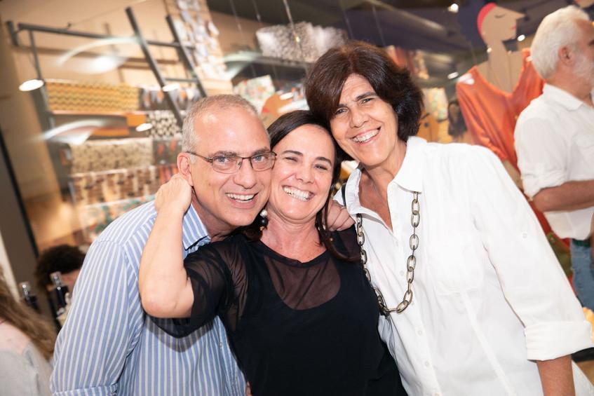 Martin Tavares, Marica Araujo e sonia Ka