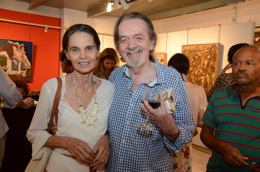 Betinha e Gilles Jacquard