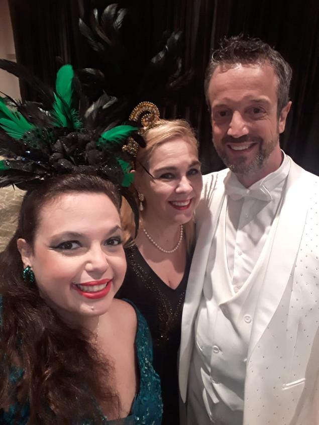Dani, Marisa e Alexis