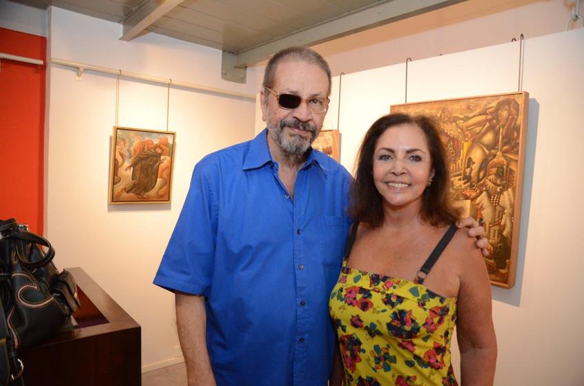 Victor Arruda e Nilga Chamoun