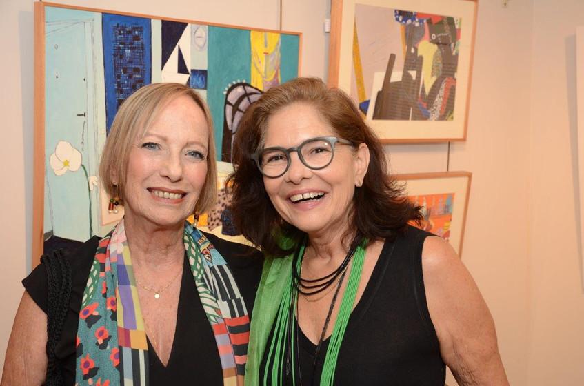 Vera Roesler e Cinthia Lira