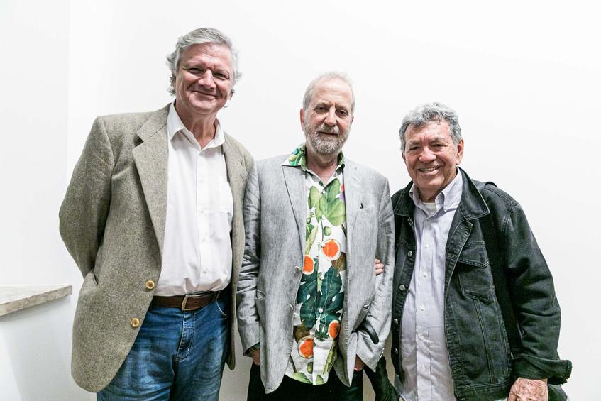 Sergio Burgi, Leonal Katz e Evandro Teix