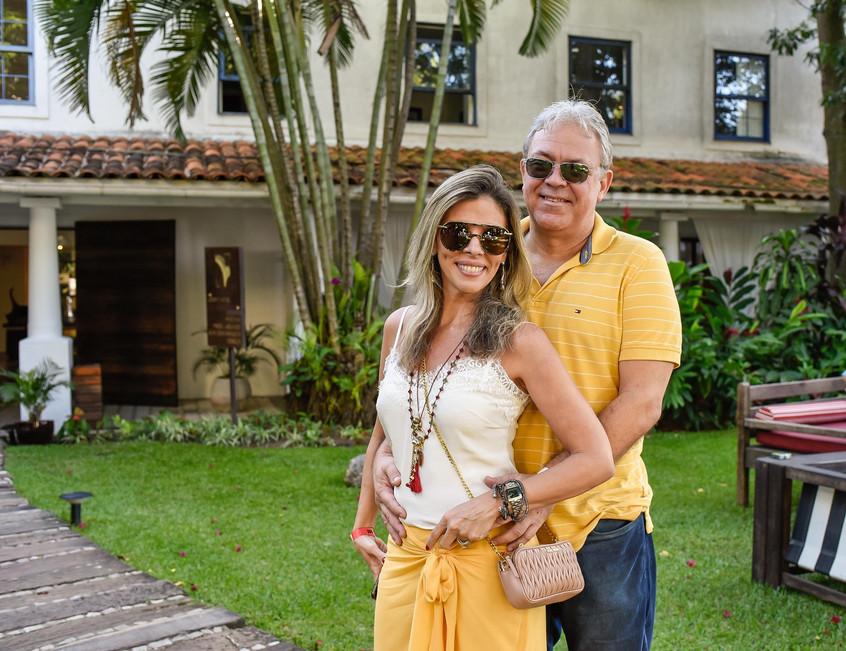 Nicole Ofeiche e Luiz Lima