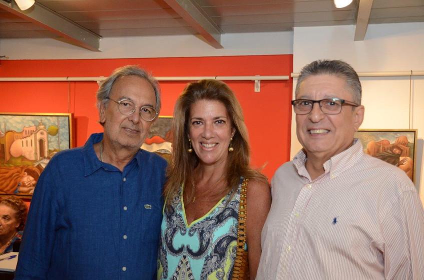 Ronnie Mesquita, Cristina e Sergio Gosto
