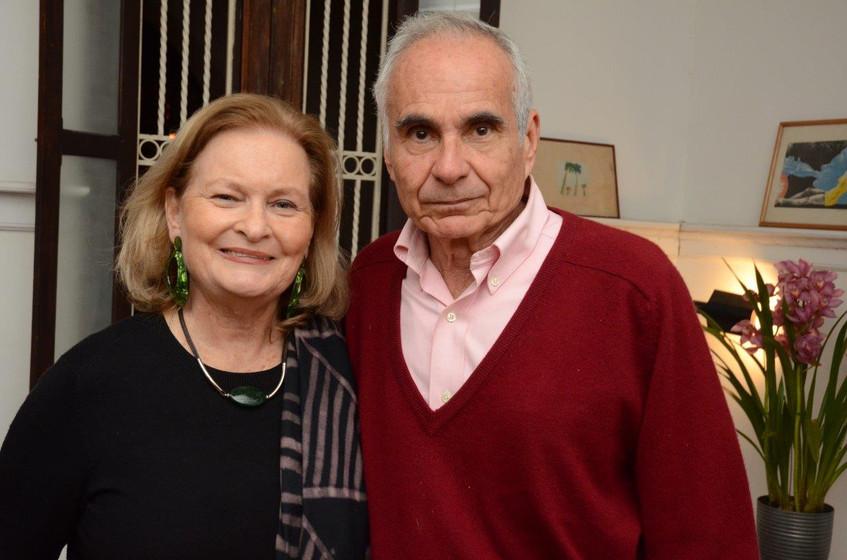 Beth Rio Branco e Toni Souza e Silva