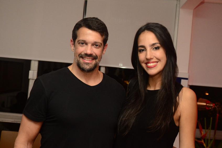 Alexandre e Andressa Pazzini