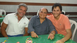 Enzo Rivera Citarella, Prof. Ivo Pitanguy e Sebastian Alamo