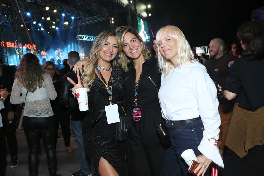 Andrea Macena, Carol Sampaio e Nicole Na
