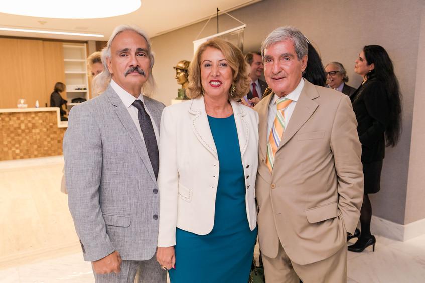 Cesar Souza e Angela Costa e Sergio Cost