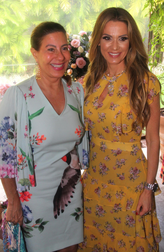 Alice Tamborindeguy e Adriana Alves