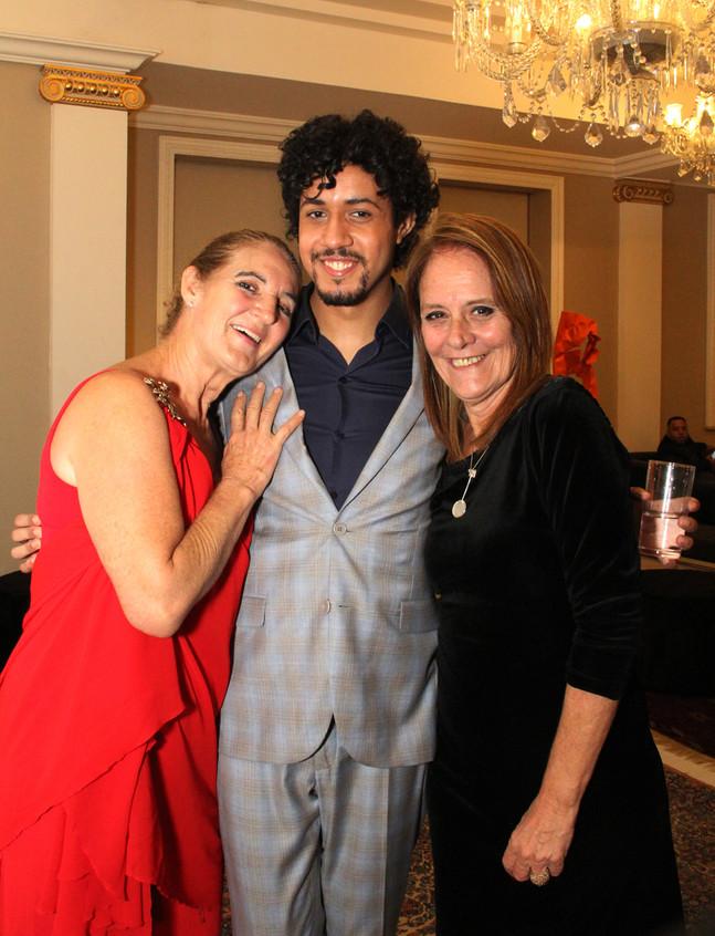 Simone Rodrigues, Abyner Gomez e Nissia