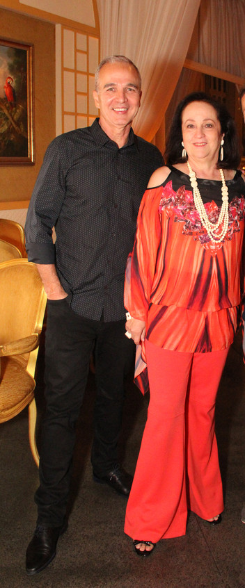 Jorge Delmas e Beth Serpa