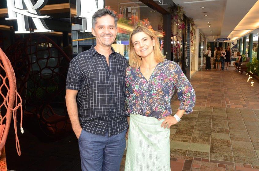 Ricardo Melo e Flavia Marcolini