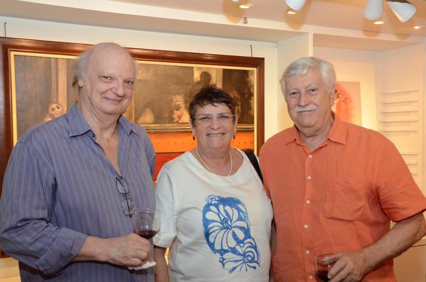 Patrick Meyer, Hortense e Matias Macier.