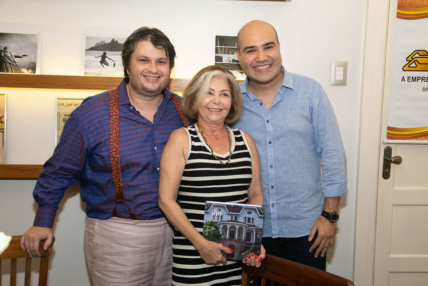 Claudio Castro, Lourdes Padilha, Rafael
