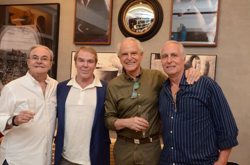 Geraldo Lamego, Luiz Carlos Riitter, Ric