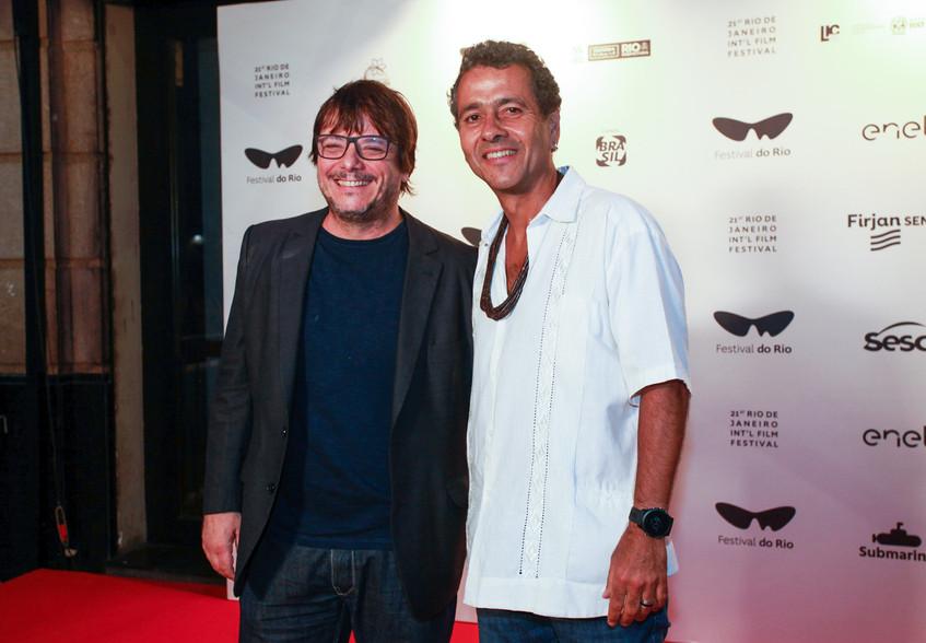 Thelmo Fernandes e Marcos Palmeira