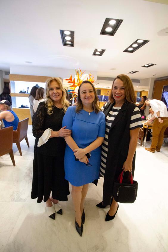 Laja Zylberman, Alessandra Bernstein e M