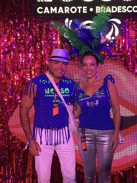 O casal Enzo Rivera