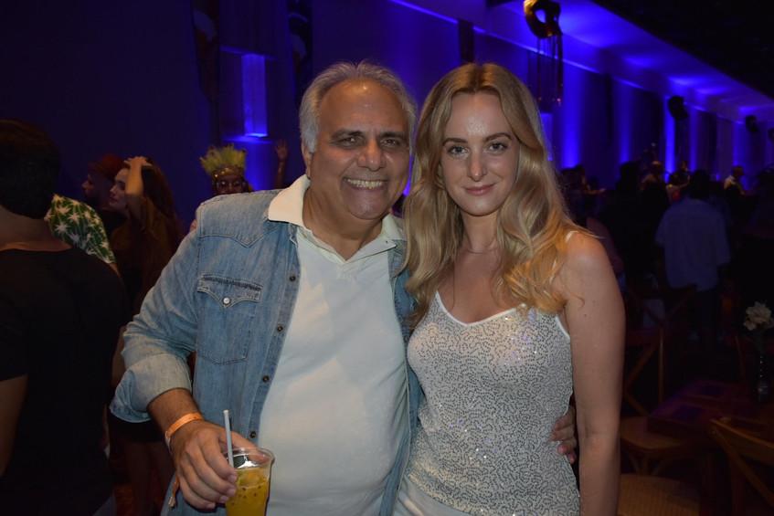Franklin Toscano e Adriane Piovesani