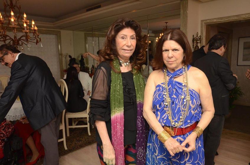 Anna Maria Tornaghi e Vanda Klabin