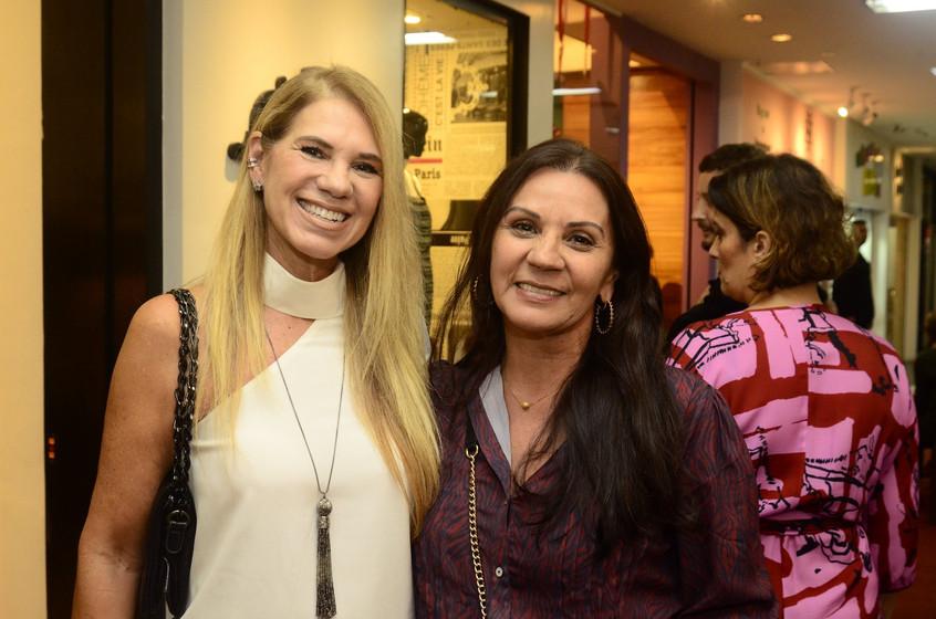 Nelia Oliveira e Teresa Feitosa