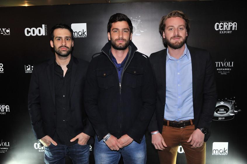 Danilo Costa, Marco Bordon e Bruno Amori