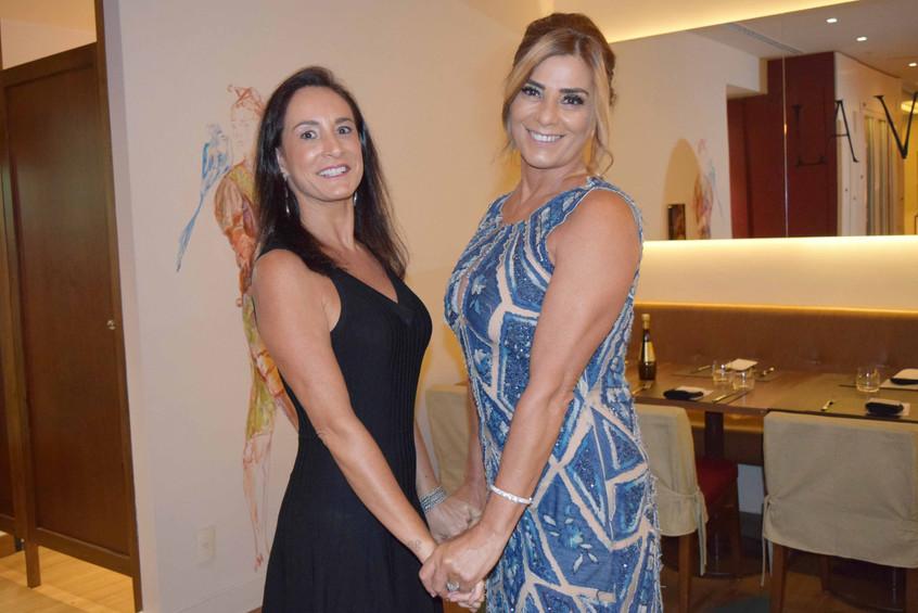 Regina Peixoto e Claudia Bueri