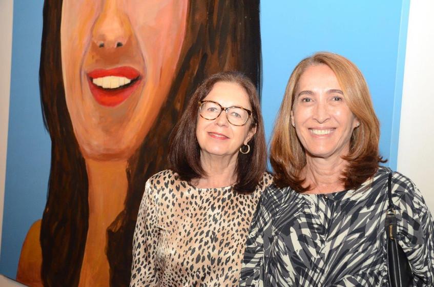 Maria Ondina Arnaud e Claudia Moraes