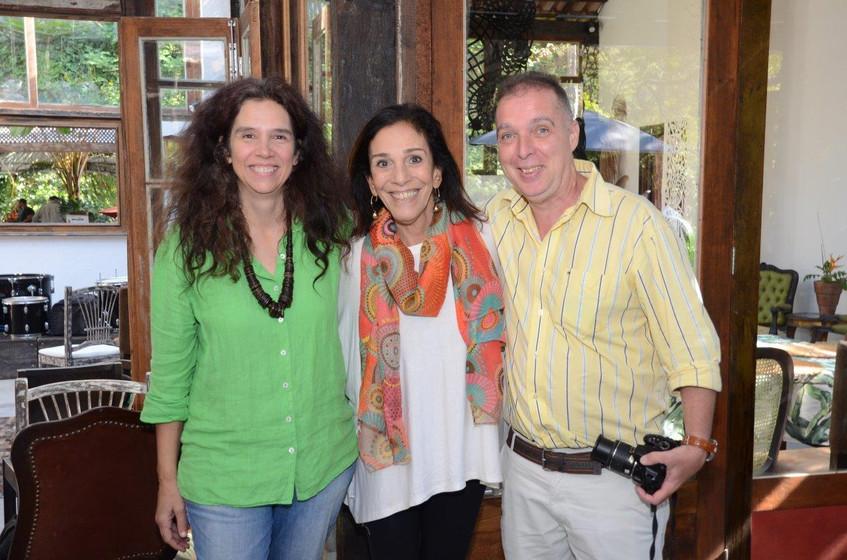 Cristina Braga, Alicinha Silveira e Baya